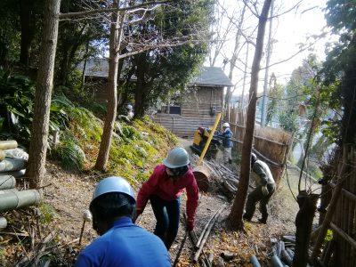 【3月】竹の運搬 有償ボランティア